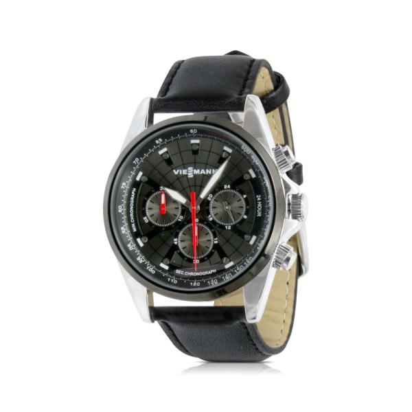 Chronograph in Schwarz